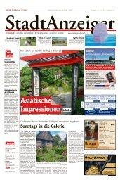 Stadtanzeiger Coesfeld kw 26