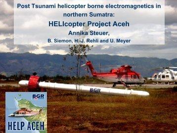 IAH 2006 Berlin, HELP ACEH, Annika Steuer et al. - BGR