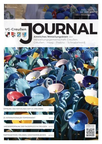 Creußen Journal - Ausgabe 12 - Juli 2021