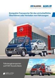 Autotransporter von ALGEMA und FIT-ZEL Professioneller ...