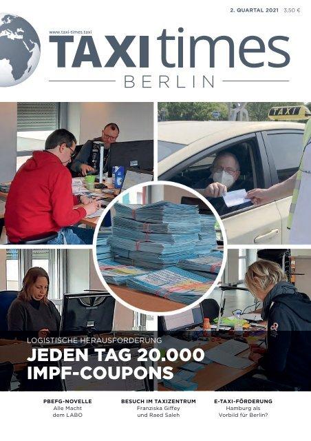Taxi Times Berlin - 2. Quartal 2021