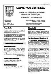 Donnerstag, 13. September 2012 - Wettringen
