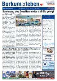 30.06.2021 / Borkumerleben - Die wöchentliche Inselzeitung