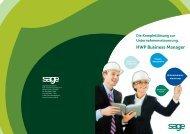 HWP Business Manager Die Komplettlösung zur ... - Software & mehr