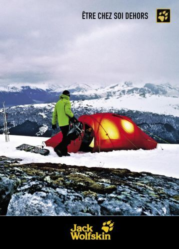 Jack Wolfskin Catalogue Automne Hiver 2012 - FR
