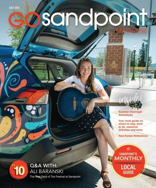July 2021 GO Sandpoint Magazine