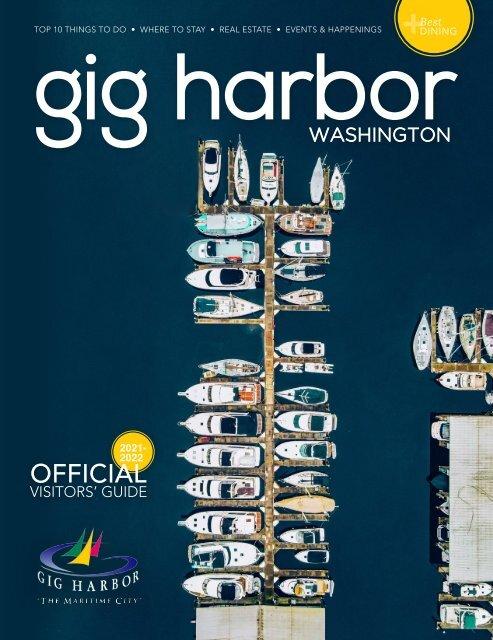 2021 - 2022 Gig Harbor Visitors Guide