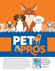 Pet Pros Stand Alone-June 2021