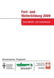 Fort- und Weiterbildung 2009 - Caritas-Akademie Köln