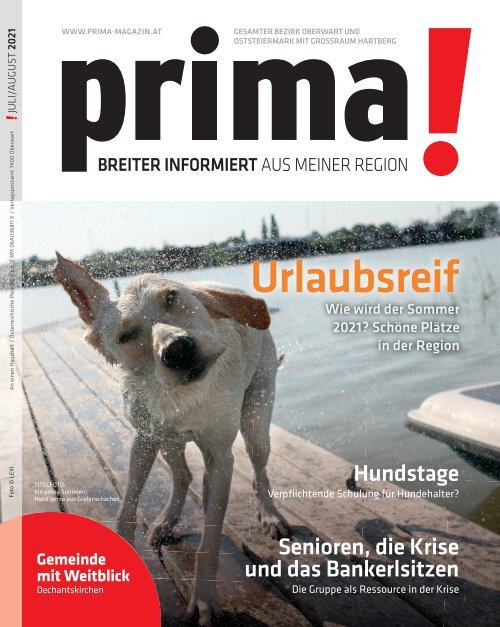 Prima Magazin - Ausgabe Juli / August 2021