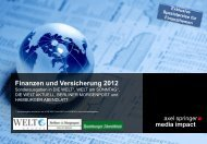 Finanzen und Versicherung 2012 - Axel Springer MediaPilot
