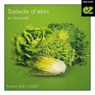 Brochure salade d'abri saison 2021-22