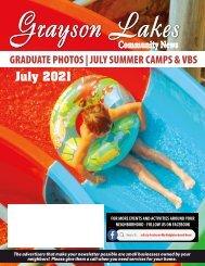 Grayson Lakes July 2021