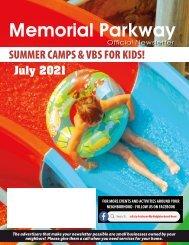 Memorial Parkway July 2021