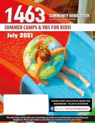 The 1463 July 2021