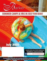 Barker July 2021