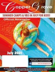 Copper Grove July 2021