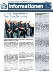 1/2011 - Landesverband der freien Berufe Brandenburg eV