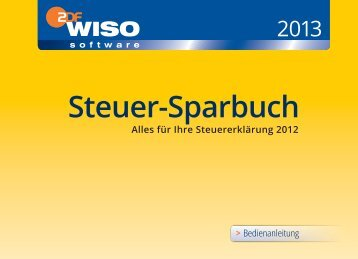 WISO Steuer-Sparbuch 2013: Bedienanleitung - Buhl Replication ...