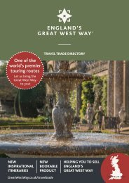 Great West Way Travel Trade Directory 2021