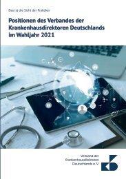 VKD-Positionen zur Bundestagswahl 2021