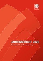 Caritas Bistum Magdeburg – Jahresbericht 2020