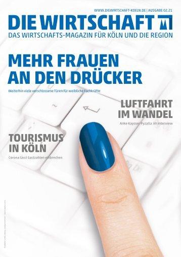 Die Wirtschaft Köln - Ausgabe 02 / 2021