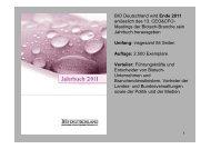 Beitritt des 100. Mitgliedes Ende 2006 - BIO Deutschland