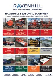 Ravenhill Monthly Featured Machines A4 July 2021