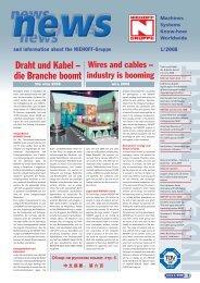 wire 2008 - Maschinenfabrik NIEHOFF
