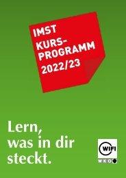WIFI Imst Kursprogramm 2021/22