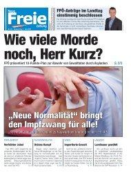 Wie viele Morde noch, Herr Kurz?