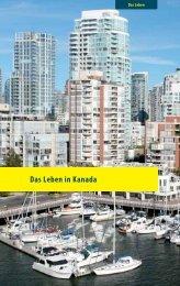 Leseprobe 1: Das Leben in Kanada - consultUS