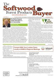 The Softwood Forest Products Buyer - July/August 2021