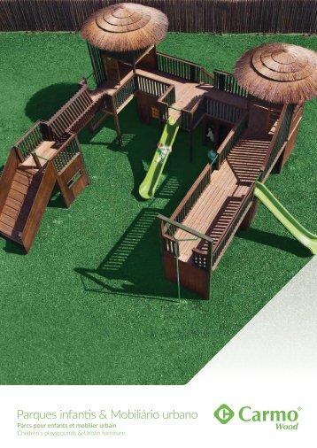 Parques Infantis e Mobiliário Urbano | Carmo Wood