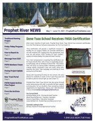 PRFN Newsletter - May 1 - June 19, 2021