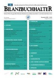 böb journal 44 - Bundesverband der Österreichischen ...