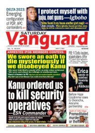 03072021 - Kanu ordered us to kil security operatives - ESN commander