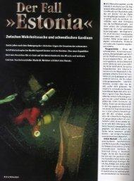 Der Fall Estonia