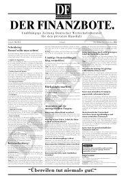 """""""Übereilen tut niemals gut!"""" Schenkung - VERBAND DEUTSCHER ..."""