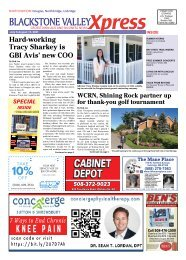 Blackstone Valley Xpress July 9 Issue