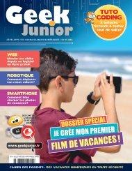 Geek Junior N°14 - juillet - août 2021 - extrait