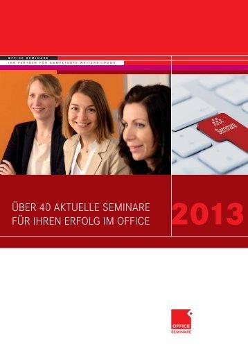 2013 - OFFICE SEMINARE