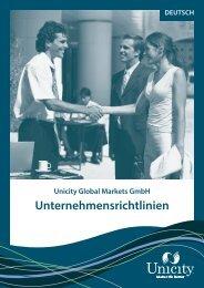 Unternehmensrichtlinien - Unicity International, Inc