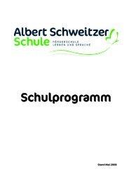 Unser Schulprogramm - Albert-Schweitzer-Schule