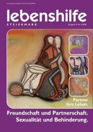 Freundschaft und Partnerschaft. Sexualität und Behinderung.