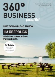 Business Bad Saarow by Esplanade