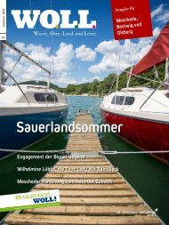 WOLL Magazin 2021.2 Sommer I Meschede, Bestwig, Olsberg