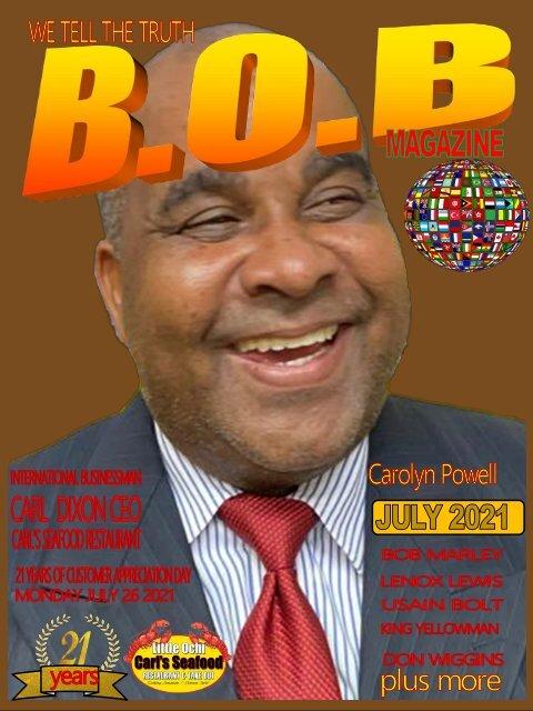B.O.B. Magazine Carl Dixon 2021