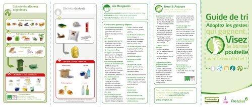 Guide du tri des déchets 2021